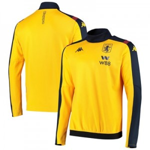 Aston Villa Training Sweat Top - Yellow