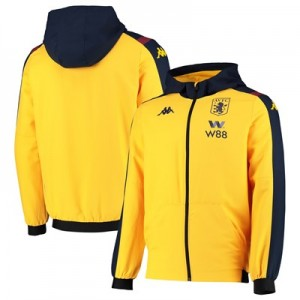 Aston Villa Woven Tracksuit Top - Yellow