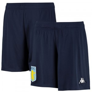 Aston Villa Training Shorts - Navy - Kids