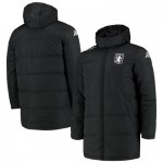 Aston Villa Seddolo Long Padded Jacket - Black - Mens