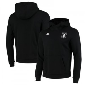 Aston Villa Basilo Fleece Sweat - Black - Mens