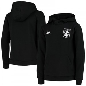 Aston Villa Basilo Fleece Sweat - Black - Kids
