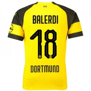 BVB Home Shirt 2018-19 with Balerdi 18 printing