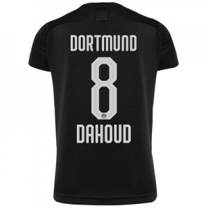 BVB Away Shirt 2019-20 with Dahoud 8 printing