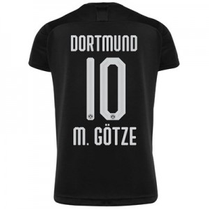 BVB Away Shirt 2019-20 with M. Götze 10 printing