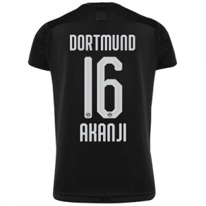 BVB Away Shirt 2019-20 with Akanji 16 printing