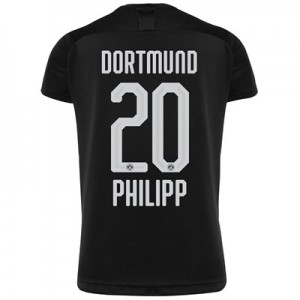 BVB Away Shirt 2019-20 with Philipp 20 printing