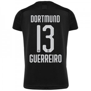BVB Away Shirt 2019-20 - Kids with Guerreiro 13 printing