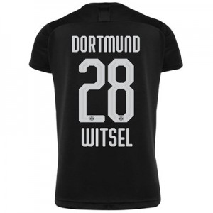BVB Away Shirt 2019-20 - Kids with Witsel 28 printing