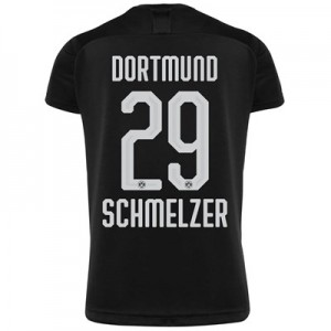 BVB Away Shirt 2019-20 - Kids with Schmelzer 29 printing
