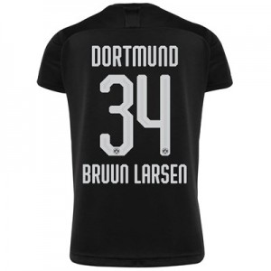 BVB Away Shirt 2019-20 - Kids with Bruun Larsen 34 printing