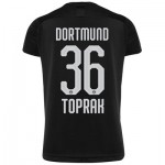 BVB Away Shirt 2019-20 - Kids with Toprak 36 printing