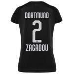 BVB Away Shirt 2019-20 - Womens with Zagadou 2 printing