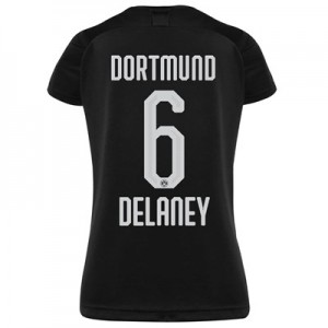 BVB Away Shirt 2019-20 - Womens with Delaney 6 printing