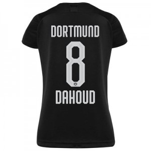 BVB Away Shirt 2019-20 - Womens with Dahoud 8 printing