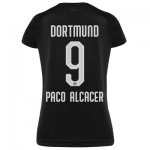 BVB Away Shirt 2019-20 - Womens with Paco Alcacer 9 printing