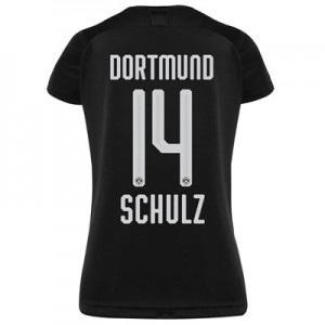 BVB Away Shirt 2019-20 - Womens with Schulz 14 printing