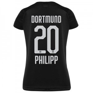 BVB Away Shirt 2019-20 - Womens with Philipp 20 printing