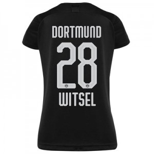 BVB Away Shirt 2019-20 - Womens with Witsel 28 printing