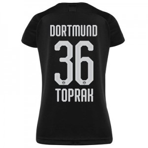 BVB Away Shirt 2019-20 - Womens with Toprak 36 printing