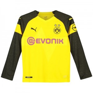 BVB Home Shirt 2018-19 - Kids - Long Sleeve