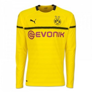 BVB Cup Home Shirt 2018-19 - Long Sleeve