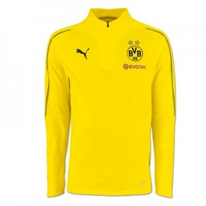 BVB 1/4 Zip Training Top - Yellow - Kids