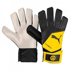 BVB One Grip 18.4 Goalkeeper Gloves - Black