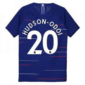 Chelsea Home Vapor Match Shirt 2018-19 - Kids with Hudson-Odoi 20 printing