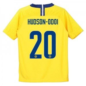 Chelsea Away Cup Stadium Shirt 2018-19 - Kids with Hudson-Odoi 20 printing