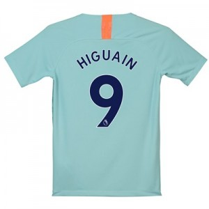Chelsea Third Stadium Shirt 2018-19 - Kids with Higuain 9 printing