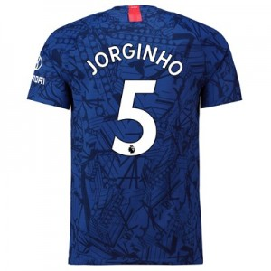 Chelsea Home Vapor Match Shirt 2019-20 with Jorginho 5 printing