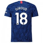 Chelsea Home Vapor Match Shirt 2019-20 with Giroud 18 printing
