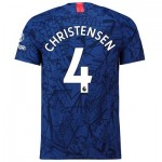 Chelsea Home Vapor Match Shirt 2019-20 with Christensen 4 printing