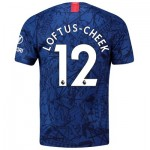 Chelsea Home Stadium Shirt 2019-20 with Loftus-Cheek 12 printing
