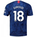 Chelsea Home Stadium Shirt 2019-20 with Giroud 18 printing