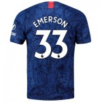 Chelsea Home Stadium Shirt 2019-20 with Emerson 33 printing
