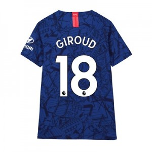Chelsea Home Vapor Match Shirt 2019-20 - Kids with Giroud 18 printing