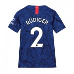 Chelsea Home Stadium Shirt 2019-20 - Kids with Rüdiger 2 printing