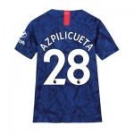 Chelsea Home Stadium Shirt 2019-20 - Kids with Azpilicueta 28 printing