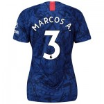 Chelsea Home Stadium Shirt 2019-20 - Womens with Marcos A. 3 printing