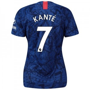 Chelsea Home Stadium Shirt 2019-20 - Womens with Kanté 7 printing