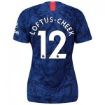 Chelsea Home Stadium Shirt 2019-20 - Womens with Loftus-Cheek 12 printing