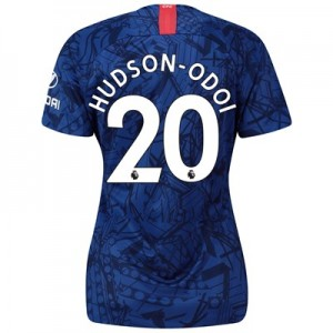 Chelsea Home Stadium Shirt 2019-20 - Womens with Hudson-Odoi 20 printing