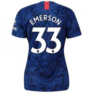 Chelsea Home Stadium Shirt 2019-20 - Womens with Emerson 33 printing