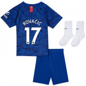 Chelsea Home Stadium Kit 2019-20 - Infants with Kovacic  17 printing