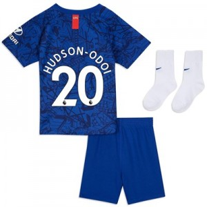 Chelsea Home Stadium Kit 2019-20 - Infants with Hudson-Odoi 20 printing