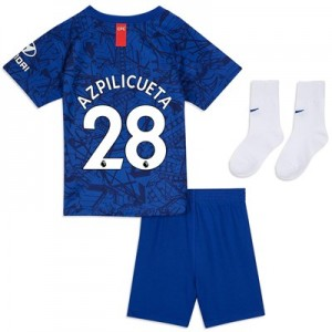Chelsea Home Stadium Kit 2019-20 - Infants with Azpilicueta 28 printing
