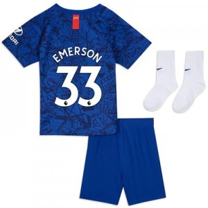 Chelsea Home Stadium Kit 2019-20 - Infants with Emerson 33 printing