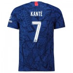 Chelsea Home Cup Vapor Match Shirt 2019-20 with Kanté 7 printing